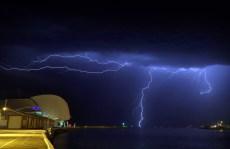 Lightning over Maritime museum