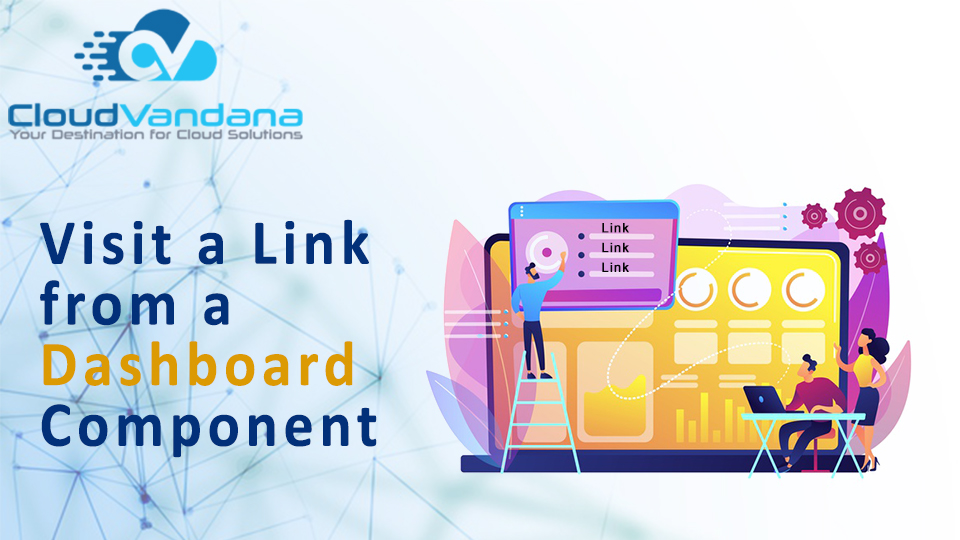 Visit a Link from a Dashboard Component
