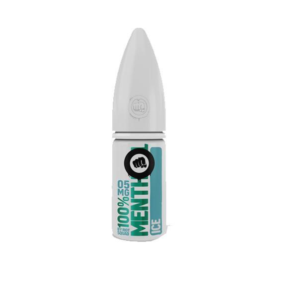 Riot Squad 100% Menthol Range 10Mg Nic Salts 10ml E-liquid, Cloud Vaping UK