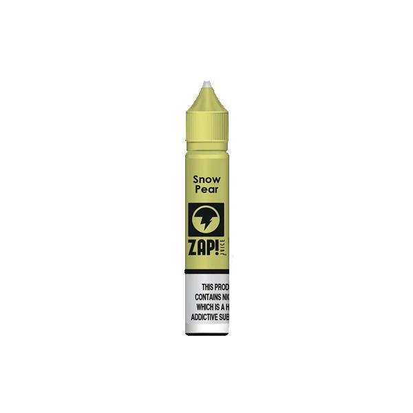 ZAP Juice 10ML 10Mg Flavoured Nic Salts E-liquid, Cloud Vaping UK