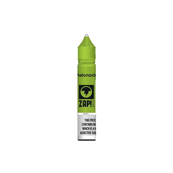 ZAP Juice 10ML 20Mg Flavoured Nic Salts E-liquid, Cloud Vaping UK