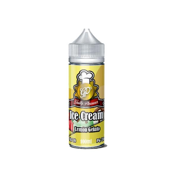 Guilty Pleasures Ice Cream Shortfill E-liquid 100ml, Cloud Vaping UK