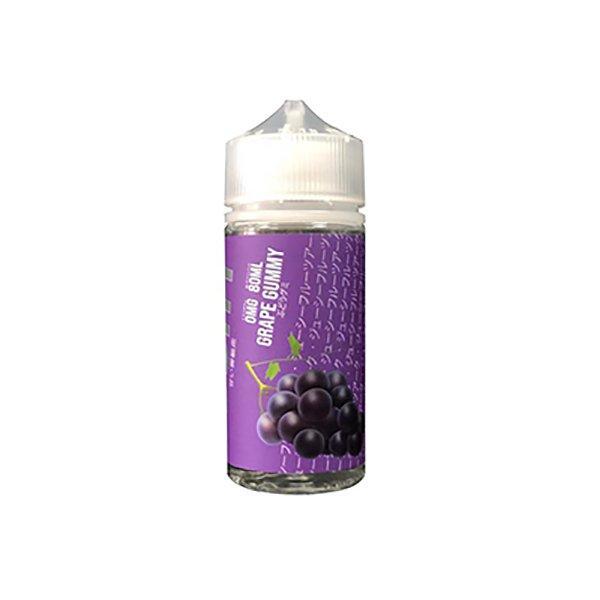 Gochy 0mg 80ml Shortfill E-liquid, Cloud Vaping UK
