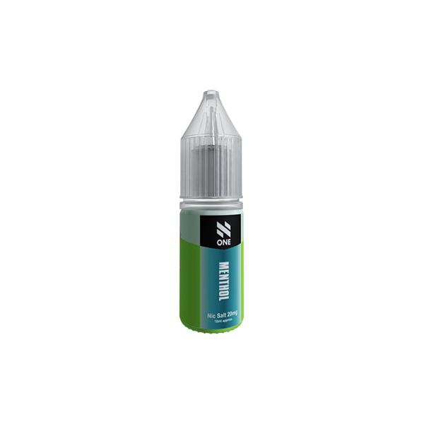 N One 10ml Nic Salts 20Mg E-liquid (50VG/50PG), Cloud Vaping UK