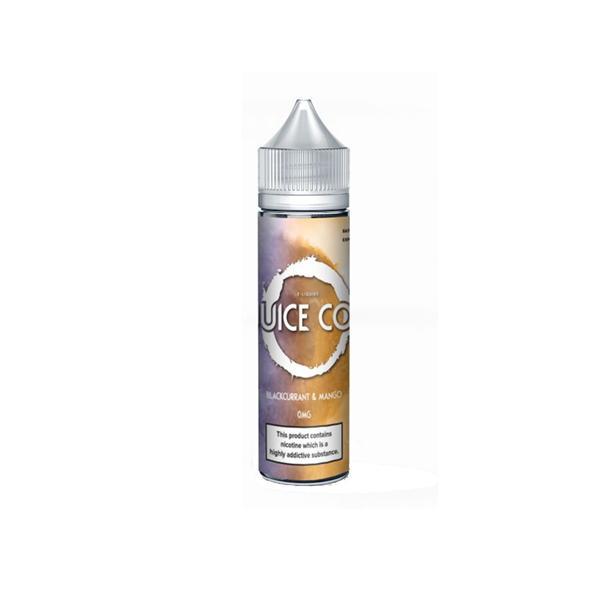 Juice Co 0mg 50ml Shortfill E-liquid  (70VG/30PG), Cloud Vaping UK