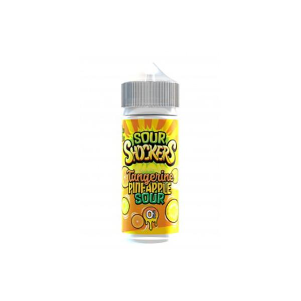 Sour Shockers 0mg 100ml Shortfill E-liquid, Cloud Vaping UK