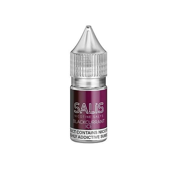 Salis 20Mg Nic Salts 10ml E-liquid, Cloud Vaping UK