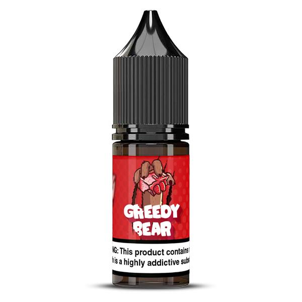 Nic Salts by Greedy Bear 20Mg E-liquid, Cloud Vaping UK