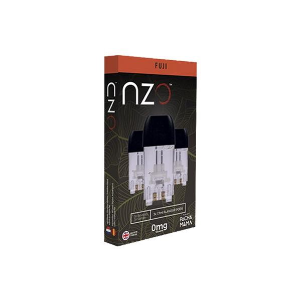 NZO 10mg Salt Cartridges with Pacha Mama Nic Salt E=liquid, Cloud Vaping UK
