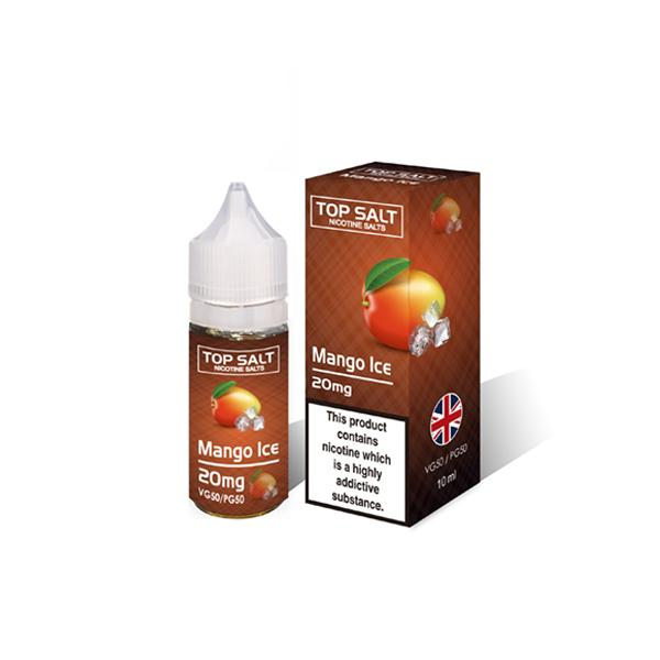 Top Salt Fruit Flavour 20Mg Nic Salts 10ml E-liquid, Cloud Vaping UK