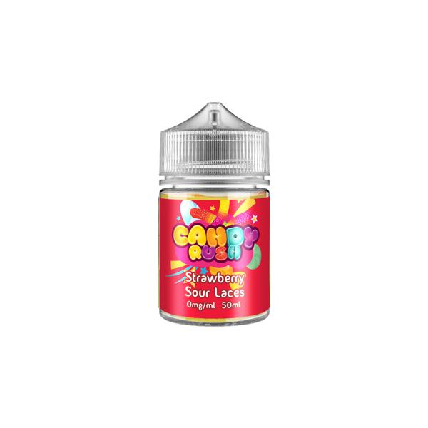 Candy Rush 0mg 50ml Shortfill E-liquid, Cloud Vaping UK