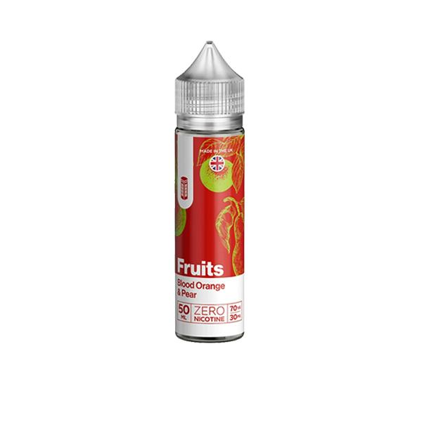 Red Fruits 0mg 50ml Shortfill E-liquid, Cloud Vaping UK