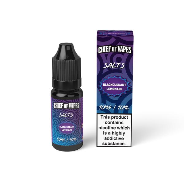 Chief of Vapes Sweets Flavoured 10Mg Nic Salt E-liquid, Cloud Vaping UK