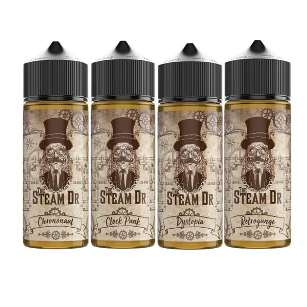 The Steam DR 100ml Shortfill E-liquid, Cloud Vaping UK