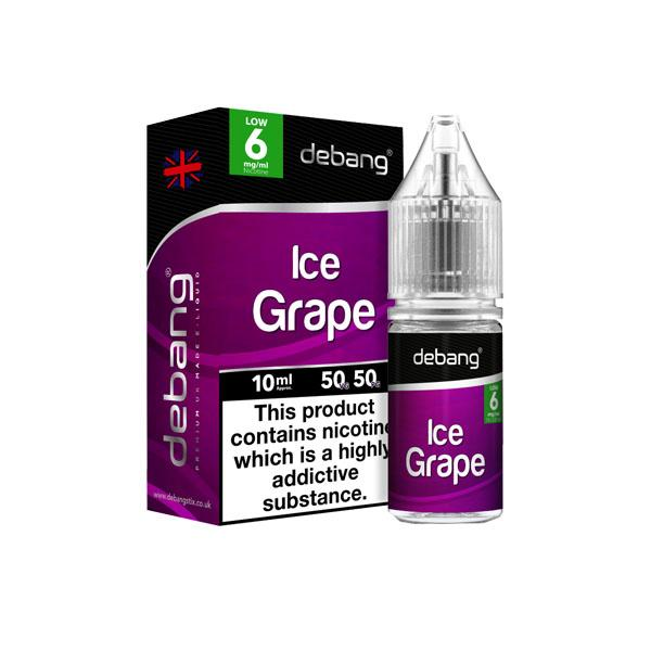 Debang 10ml 6Mg E-Liquid (50VG/50PG), Cloud Vaping UK