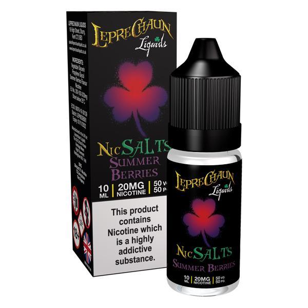 20mg Leprechaun Nic Salts 10ml (50VG/50PG), Cloud Vaping UK