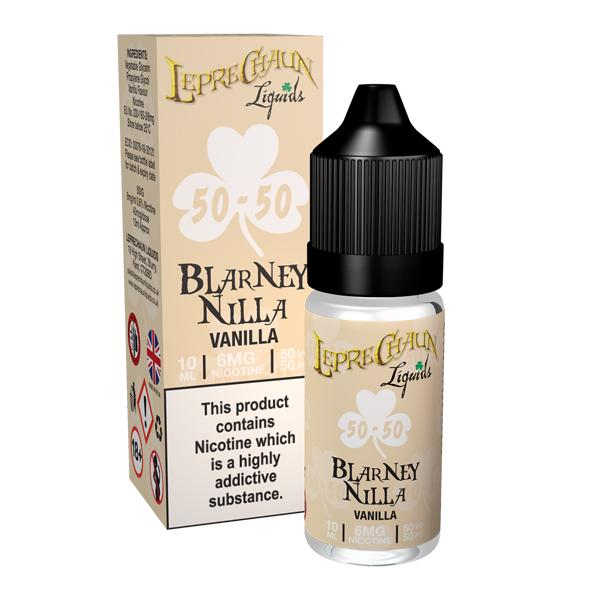 Leprechaun 50/50 Liquids 3mg 10ml (50VG/50PG), Cloud Vaping UK