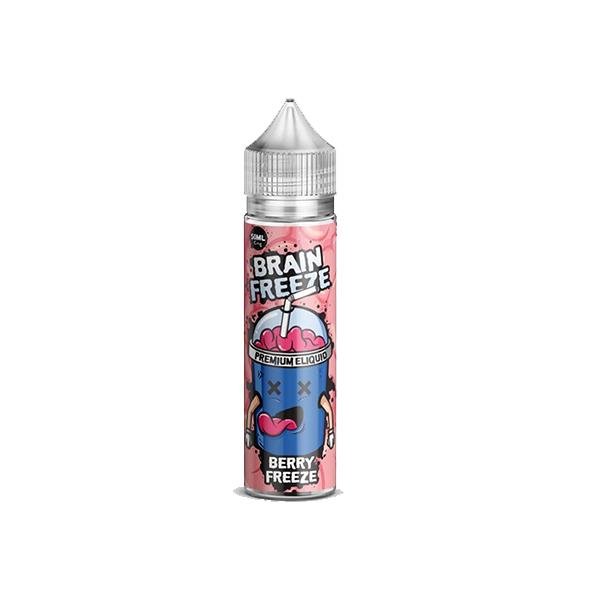 Brain Freeze 0mg 50ml Shortfill E-liquid, Cloud Vaping UK