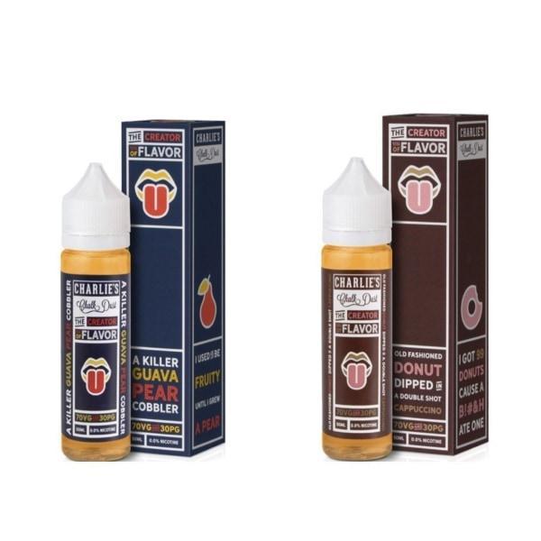 Creator of Flavor by Charlie's Chalk Dust 0MG 50ML Shortfill E-liquid, Cloud Vaping UK