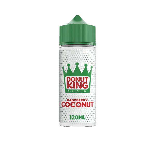 Donut King 100ml Shortfill 0mg E-liquid, Cloud Vaping UK