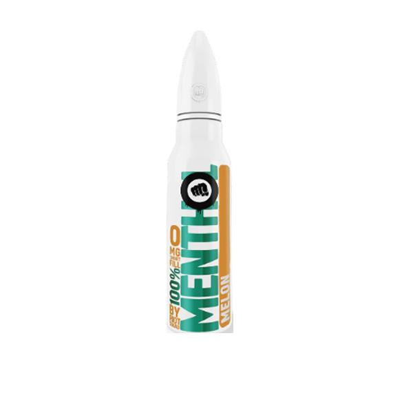 Riot Squad 100% Menthol Range 0mg 50ml E-Liquid, Cloud Vaping UK