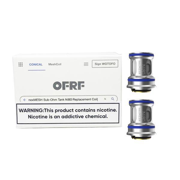 OFRF nexMesh NI80 Replacement coil 0.15 ohm, Cloud Vaping UK