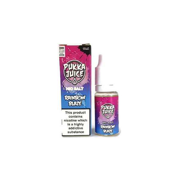Pukka Juice 10ML Flavoured Nic Salt E-liquid (50VG/50PG), Cloud Vaping UK