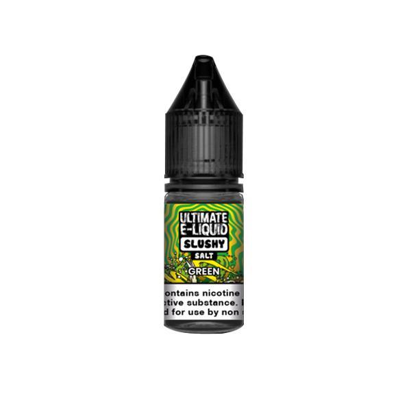 Ultimate E-liquid Slushy Nic Salts 10ml 10Mg E-liquid, Cloud Vaping UK