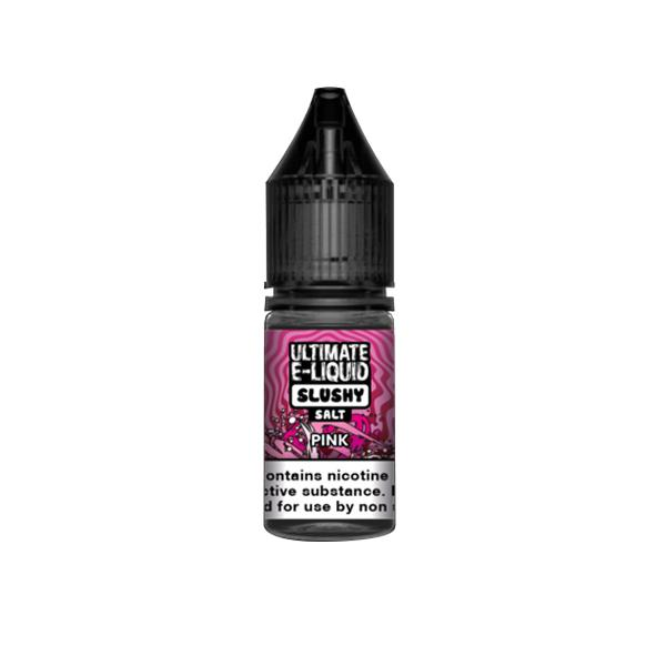 Ultimate E-liquid Slushy Nic Salts 10ml 20Mg E-liquid, Cloud Vaping UK