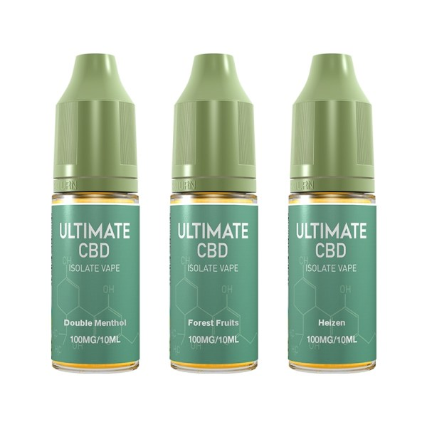 Ultimate CBD 100mg (10ml), Cloud Vaping UK
