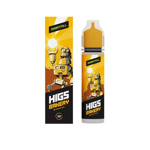HIGS Shortfill E-liquid 50ml, Cloud Vaping UK