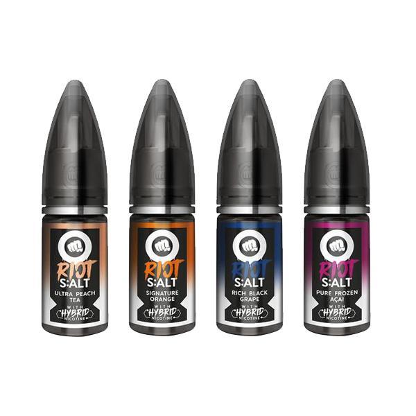 Riot Squad Black Edition Nic Salts 10ml 20Mg E-liquid, Cloud Vaping UK