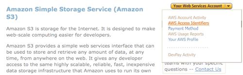 شرح إنشاء حساب جديد على موقع Amazon S3 (4)