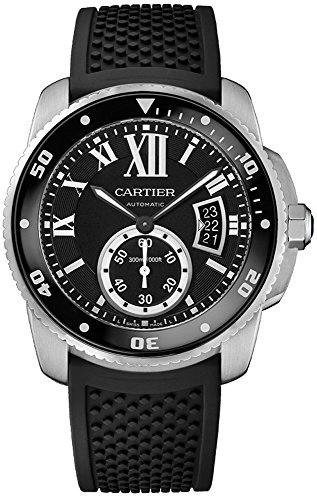 Cartier Men's Analog Display Swiss Automatic Black Watch