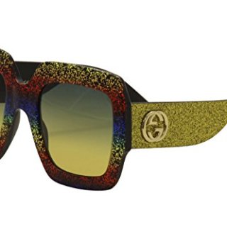 Gucci GG MULTICOLOR/GREY GOLD Sunglasses
