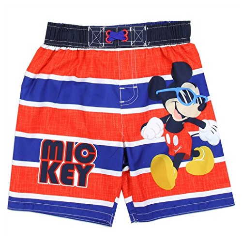 Disney Junior Mickey and the Roadster Racers Mickey Mouse Boys 2-4 Toddler Swim Shorts (4 Toddler)