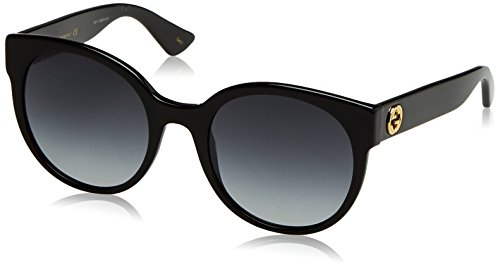 9f39e32f65 Gucci Black Round Sunglasses Lens Category 3 Size 54mm Clout Wear