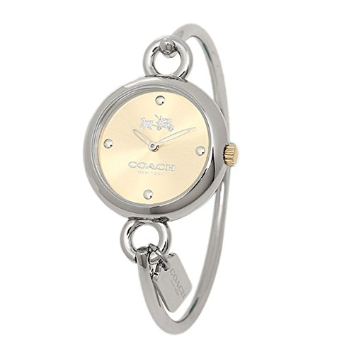 COACH Women's Hangtag Bangle Gold/Steel One Size