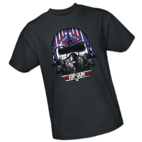 Maverick Helmet -- Top Gun Youth T-Shirt, Youth Small