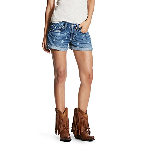 Ariat Womens 3 inch Boyfriend Short 27 R Star Laser