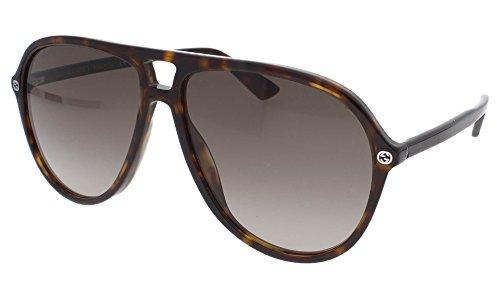 Sunglasses Gucci GG AVANA / BROWN / AVANA