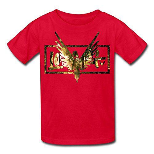 Eric A. Collins Youth Kids T-Shirt Short Sleeve Logan Paul Same Popular Logo Red L