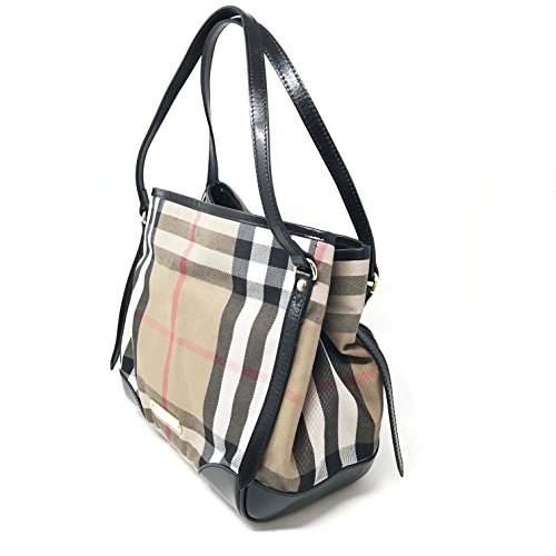 Burberry Bridle House Check Small Canterbury Tote