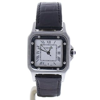 Cartier Santos Octagon Automatic-self-Wind Female Watch (Certified Pre-Owned)