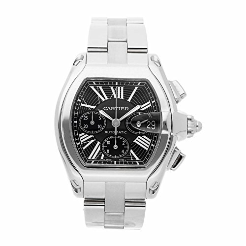 Cartier Roadster automatic-self-wind mens Watch (Certified Pre-owned)