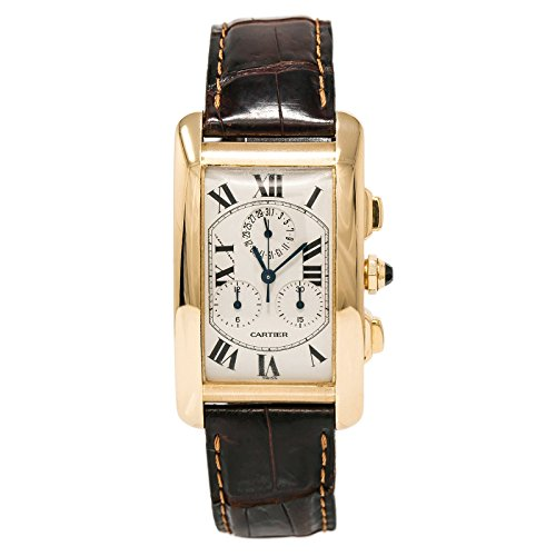 Cartier Tank Americaine Quartz Mens Watch (Certified Pre-Owned)