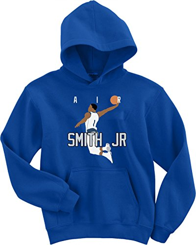 JM Shirts Blue Dallas Smith Jr Air Pic Hooded Sweatshirt Adult
