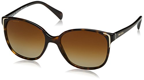 Prada Sunglasses - PR01OS / Frame: Havana Lens: Polar Brown Gradient