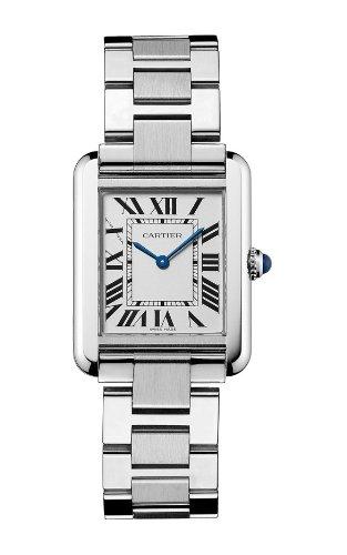 """Cartier Women's """"Tank Solo"""" Stainless Steel Dress Watch"""