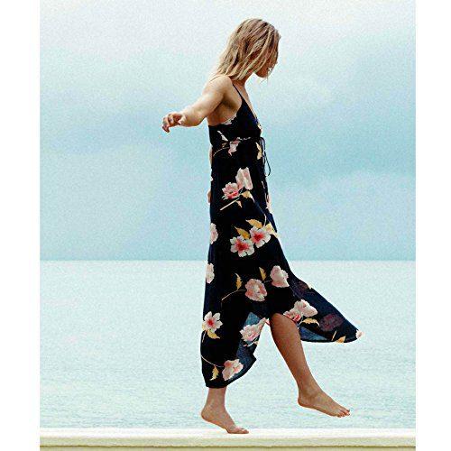 Billabong Women's Like Minded Dress, Black, L